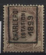 PREOS Roulette - CHARLEROI STATION 1899 (position A) Sans Bandelette. Cat 242 Cote 600. - Roller Precancels 1894-99