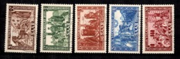 Sarre YT N° 278/282 Oblitérés. B/TB. A Saisir! - 1947-56 Ocupación Aliada