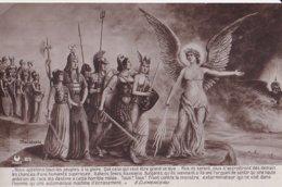 Nous Appelons Tous Les Peuples à La Gloire ... G Clémenceau   (illustrateur Onconnu) - Patrióticos