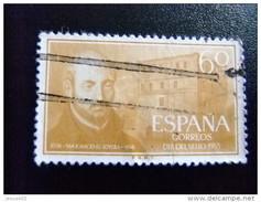 ESPAÑA SPAIN AÑO YEAR 1955 EDIFIL Nº 1167 - USADO (o) USED (o) - IV CENTENARIO MUERTE DE SAN IGNACIO DE LOYOLA - 60 Cts - 1951-60 Usados