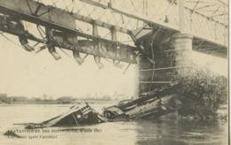 Ponts Des Cé- Catastrophe Du 04 Août 1907 - Une Cure ** Très Belle Cpa Neutre ** - Les Ponts De Ce