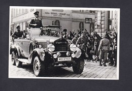 REPRODUCTION COPIE Reichsprotektorat über Böhmen Und Mähren - Der Fürher In Brünn ( Adolf Hitler Voiture ) - Guerra 1939-45