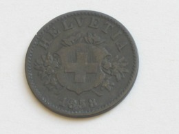 20 Centimes Rappen  1858 B  - Suisse - Switzerland  **** EN ACHAT IMMEDIAT **** - Suisse