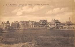 La Panne - Groupe De Villas - Avenue De La Gare - De Panne