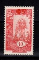 Cote Des Somalis - YV 100 N* (trace) Croix Rouge Cote 15 Euros - Nuovi