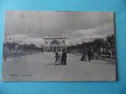 CPA - LIVORNO - La Statione - Livorno