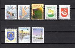 Lituania   2000  .-  Y&T  Nº  647/648-649-650/652-653/654 - Lituania