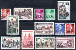 REUNION - YT N° 331 à 341 - Neufs ** - MNH - Cote: 40,00 € - Reunion Island (1852-1975)