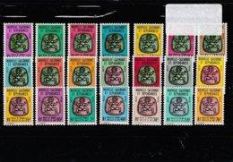 Nouvelle-Calédonie Service De 1976 à 1987 Neufs Sans Charnière - 21 à 41 - Cote 39.00 - Service