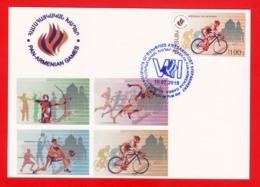 Armenien/Armenie/Armenia/Karabakh 2019, 7th Pan-Armenian Games, Cycling - Card Maximum - Cyclisme