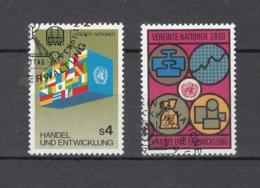 NATIONS  UNIES  VIENNE   1983    N° 34-35    OBLITERES   CATALOGUE YVERT - Centre International De Vienne