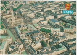 Calvados : CAEN :   Vue  Aérienne  , Quartier  Saint  Pierre - Caen