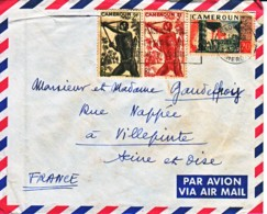 CAMEROUN : 1962 - Lettre Par Avion Pour La France - Camerun (1960-...)