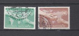 NATIONS  UNIES  VIENNE   1983    N° 32-33    OBLITERES   CATALOGUE YVERT - Centre International De Vienne