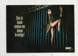 Cp ,publicité ,  DIM ,  Ta Haute Couture Me Donne Le Vertige!  Vierge - Pubblicitari