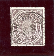 Norddeutscher Postbezirk MiNr. 12 Gestempelt Im Borek Vordruck (BW7411 - Norddeutscher Postbezirk (Confederazione Germ. Del Nord)