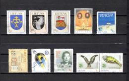 Lituania   2004  .-  Y&T  Nº  732/734-735-736-740-741-742-743/744 - Lituania