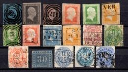 Prusse 17 Classiques 1850/1867. Bonnes Valeurs. A Saisir! - Preussen