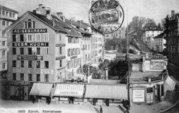 (124)  CPA   Zurich  Ramistrasse  (bon Etat) - ZH Zurich