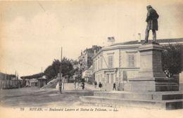 Royan - Boulevard Lessore Et Statue De Pelletan - Royan