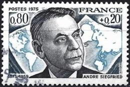 France 1975 - Mi 1940 - YT 1858 ( André Siegfried ) - France