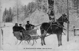 MONTAGNES Du DOUBS - Dans Les Neiges - Edition Simon. Numéro : 38. Circulée En 1906. Bon état. - Non Classificati
