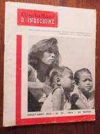 Revue - COMBATTANT D' INDOCHINE - N°27 De 1954 - Guerre D' INDOCHINE De 1946 à 1954 - 56 Pages - 27 Photos - French