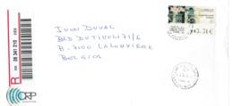Carta Certificada (recommandé) De La Onda Real De Las Palmas A Belgiqca (5/10/2003) - Altri Oggetti