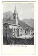 887 - CHIESA PARROCCHIALE DI PONTEBBA UDINE 1920 CIRCA - Udine