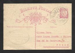"Portugal Entier Postale Cachet Touristique Monastère De Batalha 1933 ""Visitai A Batalha Monumento Nacional"" Tourism Pmk - Marcophilie"