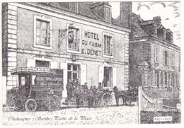 Prix Fixe - Chahaignes - Hôtel Du Faisan - La Place - Illustr. Maillard # 7-11/24 - France