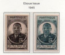 Martinique YT 218-219 XX / MNH - Neufs