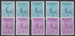 Europa Cept 1966 Turkey 2v (5x) ** Mnh (44812) - Europa-CEPT