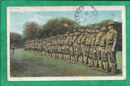 US Army En 1917 Roll Call (L'appel) 2scans 10-11-1923 Cachet De Bernot (02) - Guerre 1914-18