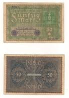 50 Mark Reichsbanknote- Berlin, 24.Juni1919 - 50 Mark
