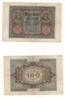 100 Mark Reichsbanknote- Berlin, November1920 - [ 3] 1918-1933 : Repubblica  Di Weimar