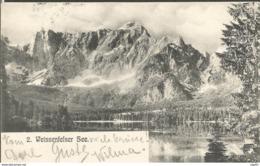 LAGO DI FUSINE WEISSENFELSTER SEE, FRIULI-VENEIA GIULIA ITALIA, PC, Cirkulated 1904 - Italy