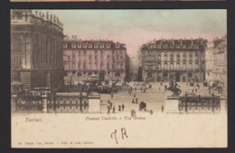 16039 Torino - Piazza Castello E Via Roma F - Places