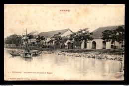 VIETNAM - ANNAM - TOURANE - BATIMENTS DES DOUANES ET REGLES - Viêt-Nam