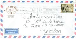 Lettre De Castell D'els Hams, Porto Cristo, Majorque, Baleares Vers La Belgique Du 05/021980 - 2001-10 Storia Postale