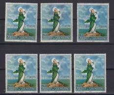 Europa Cept 1966 San Marino 1v (6x) ** Mnh (44812C) - Europa-CEPT