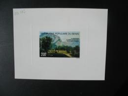 Bénin  1977  épreuve De Luxe N° PA 267  Conseil International De La Langue Française Château De Sassenage - Other