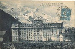 74 CHAMONIX MONT BLANC CHAMONIX PALACE  AUJOURD HUI RESIDENCE MONT BLANC Editeur BLANC - Chamonix-Mont-Blanc