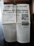 (G2) LA PROVINCIA GRANDE SENTINELLA D' ITALIA FEDERAZIONE FASCI COMBATTIMENTO CUNEO 8 OTTOBRE 1941 ANNO 1 N°14 - Riviste & Giornali