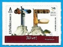 España. Spain. 2017. 12 Meses, 12 Sellos. Teruel - 1931-Heute: 2. Rep. - ... Juan Carlos I