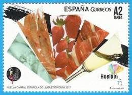 España. Spain. 2017. Huelva. Capital Española De La Gastronomía. Jamon Iberico - 1931-Tegenwoordig: 2de Rep. - ...Juan Carlos I