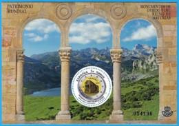 España. Spain. 2017. HB. Patrimonio Mundial. Monumentos De Oviedo Y Reino De Asturias - 2011-... Unused Stamps