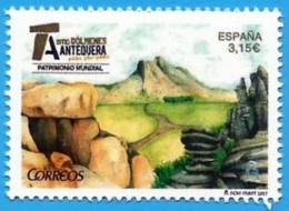 España. Spain. 2017. Patrimonio Mundial. Dolmenes De Antequera - 2011-... Unused Stamps