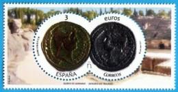 España. Spain. 2017. Numismática. Áureo De Adriano Y Denario De Trajano - 1931-Hoy: 2ª República - ... Juan Carlos I