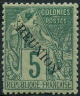 Reunion (1891) N 20 * (charniere) - Réunion (1852-1975)